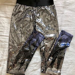 H&M sequin leggings NWOT